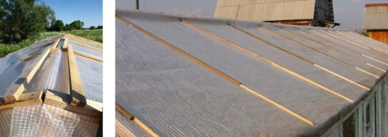 Характеристика и преимущества армирующей пленки для теплиц и парников