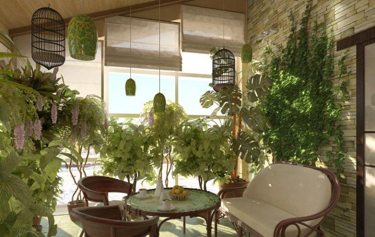 Для оранжереи лучше всего подойдет помещение с окнами на юго-восток: оно не будет слишком жарким, но в нем окажется достаточно света