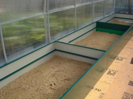 Многие садоводы сталкивались с проблемой создания грядки в теплице