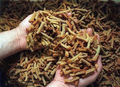 Готовых сухарей должно получиться около 3-4 кг