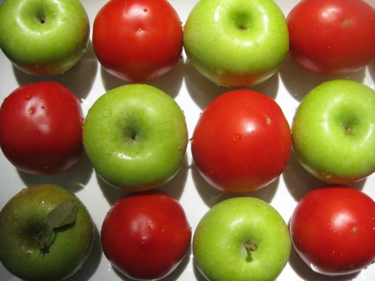 Скрещивание таких плодов, как яблоко, помидор позволяет получить новую уникальную культуру