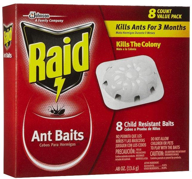 «Рейд». Это вещество призвано уничтожать не только муравьев в теплице, но и обычных клопов