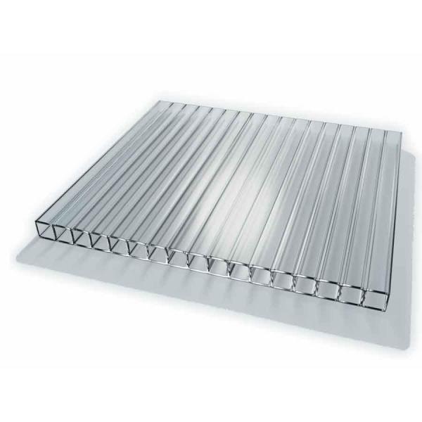 Наряду с металлическими профилями, можно построить теплицу из ПВХ-частей