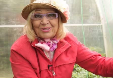 Телеведущая и автор книг по овощеводству, опытный огородник О. Ганичкина