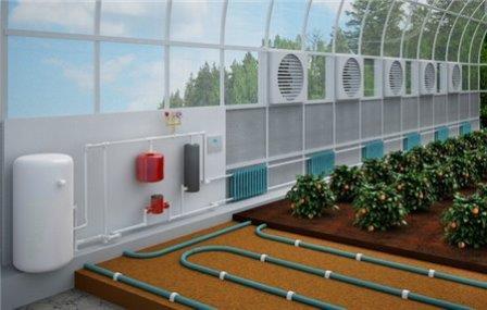 Отопление теплицы нужно для того, чтобы продлить полезный срок службы конструкции