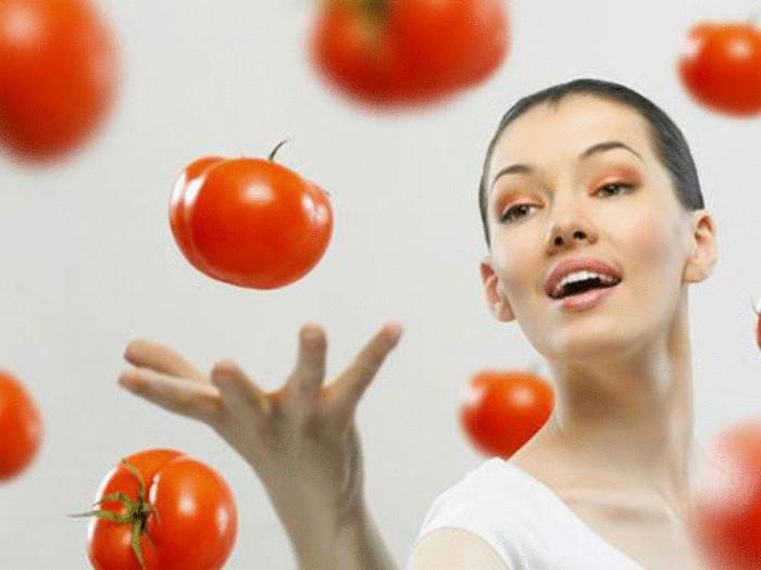 Свежий помидор полезен и для желудочно-кишечного тракта