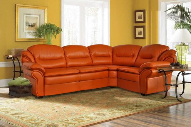 В основном потребители отдают предпочтение угловым диванам