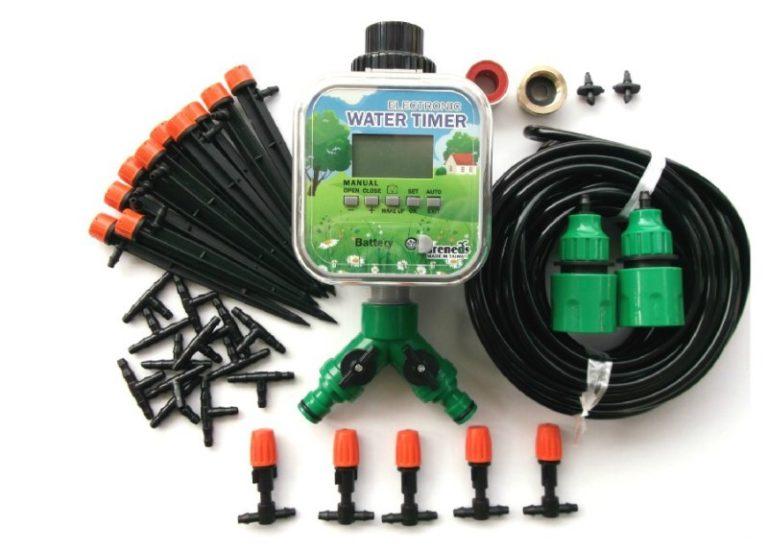 Плюс контроллеров в том, что можно подавать воду как на пространство возле усадеб, так и на огороды с огромной площадью