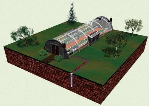 Отопление тепловым насосом является одним из многих энергетических проектов