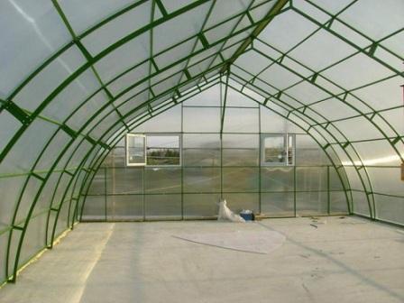 Теплицы фермерские из поликарбоната - это защитные конструкции для крупных хозяйств