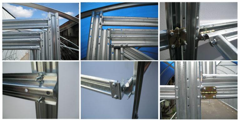 При одинаковых составных частях изделия отличаются разновидностью применяемых стальных деталей и их установкой