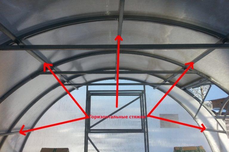 Хоть у данной конструкции каркас достаточно прочный, лучше снять ее покрытие на зимний период