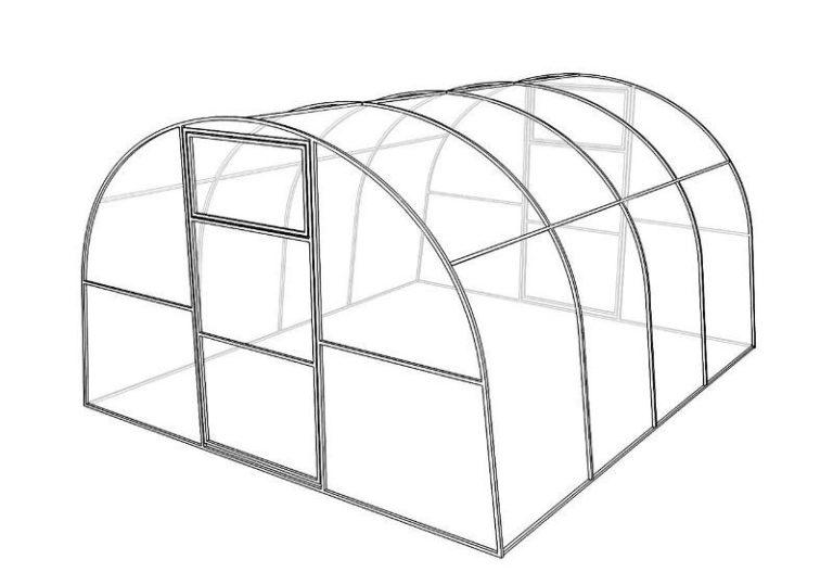 Строительство может занять 1-2 дня. Форма сооружения может быть только арочной