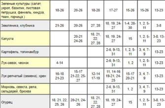Лунный календарь садовода и огородника на Урале
