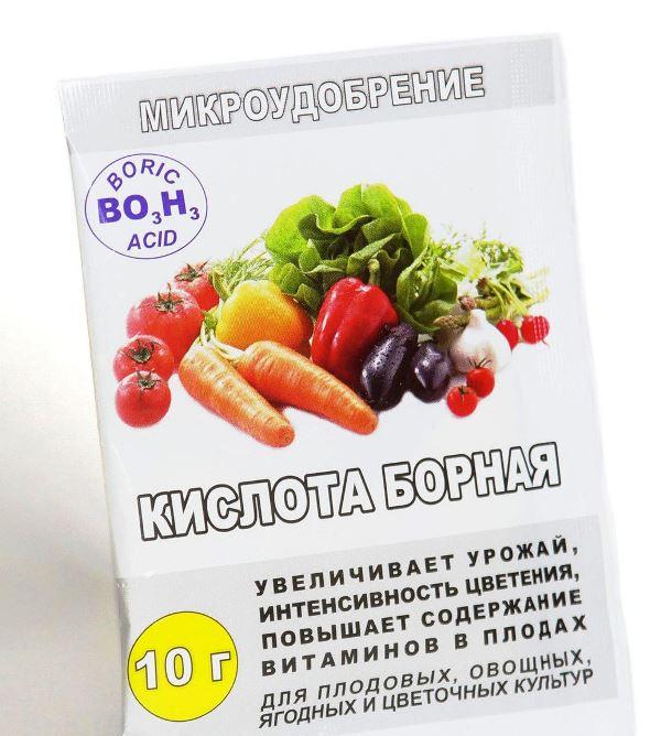 Повысит урожайность и опрыскивание томатов борной кислотой