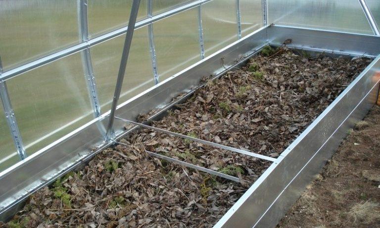 Теплые грядки выполняются с использованием насыпной земли, при этом края ограничивают бортиками