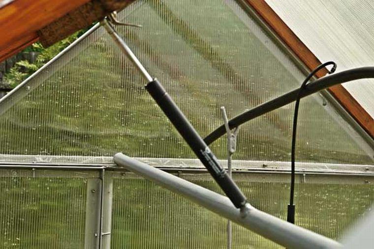 Вентиляция теплиц из поликарбоната своими руками
