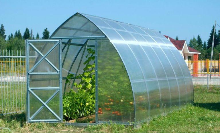 Теплица может не иметь отопления и обогреваться солнечными лучами, проникающими сквозь прозрачную крышу
