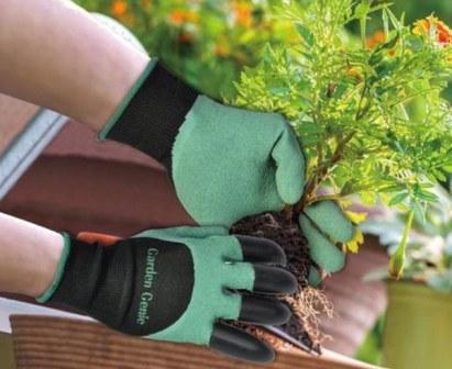 В продаже появились революционные перчатки Garden Genie Gloves