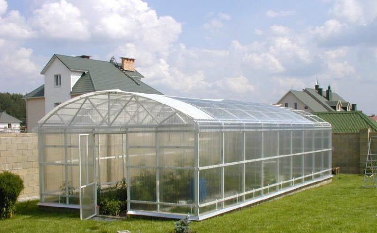 Теплицы, защищенные листами сотового поликарбоната, могут прослужить на даче до 20 лет