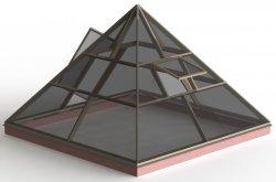Производство пирамиды своими руками - это не историческая фантазия, а будни огородников нашего времени