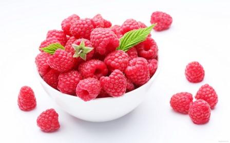 Малина - вкусная и полезная ягода