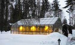 Строительство зимней теплицы