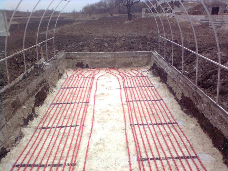 Теплицы с подогревом почвы